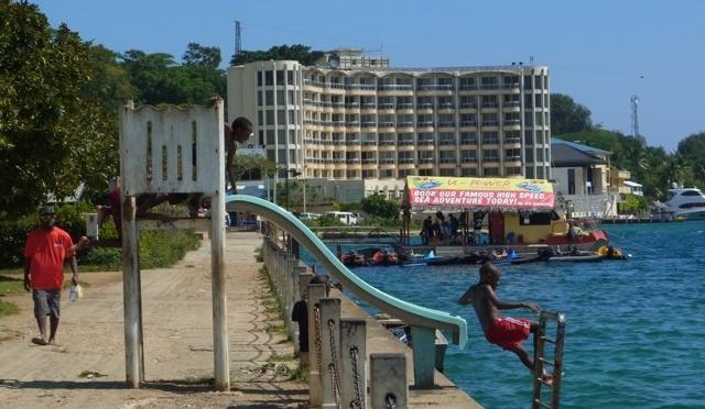 瓦努阿圖遊歷 (1) 首都維拉港 Port Vila