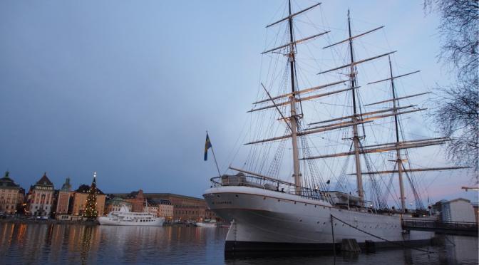 〖北・極光追逐〗〔斯德哥爾摩〕 STF Af Chapman 帆船旅舍