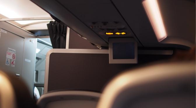〖北・極光追逐〗BA817 哥本哈根→倫敦 商務客位體驗