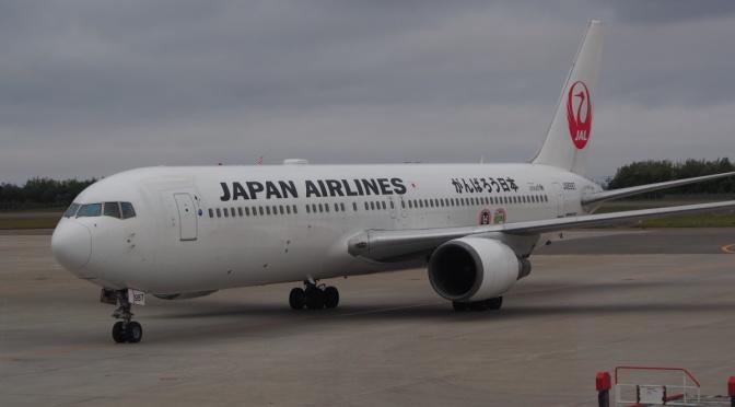 JL586 函館→東京羽田 日航內陸機搭乘記