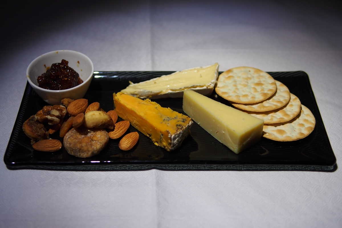 Cheese Selection served with Crackers