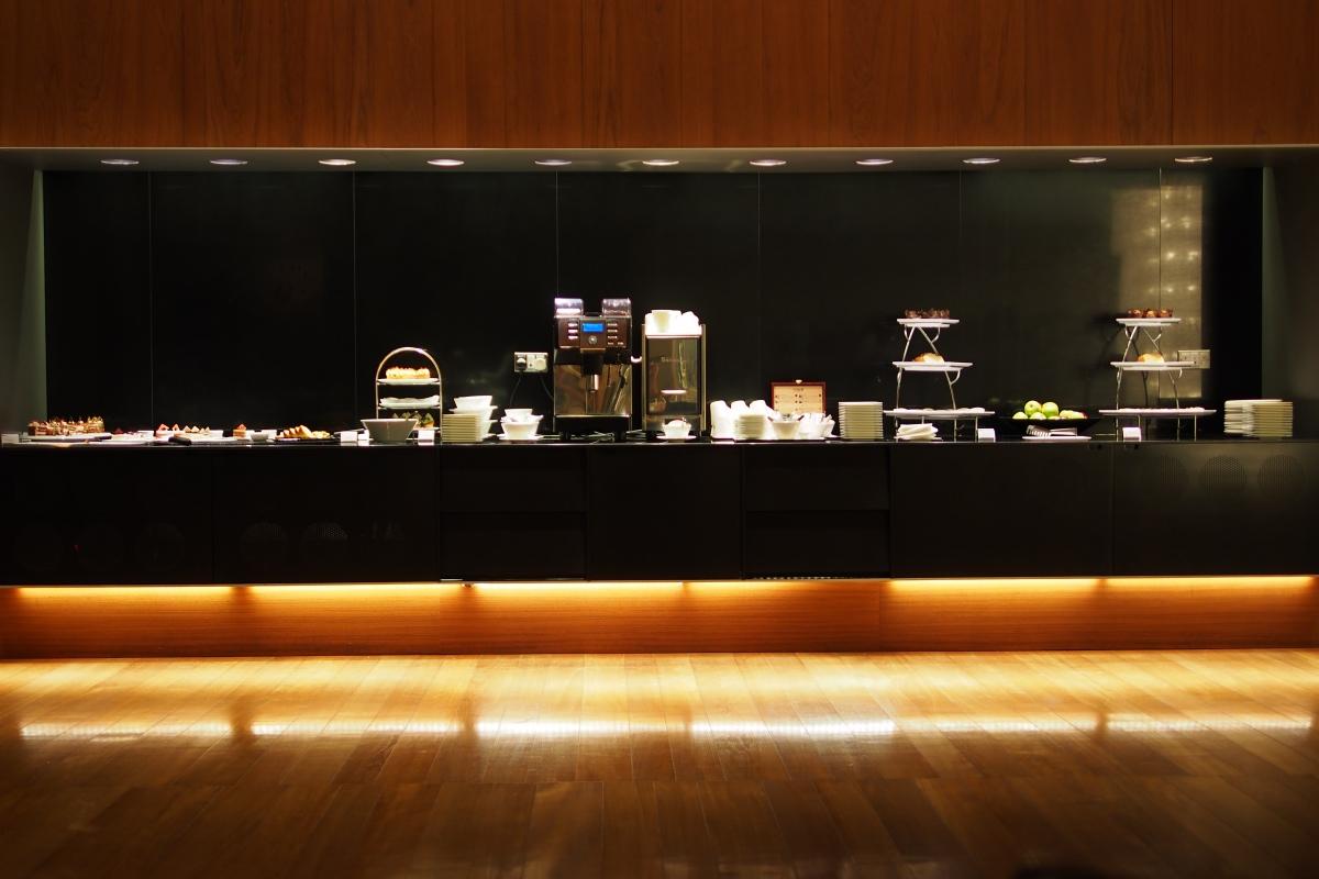 甜品及飲品櫃枱