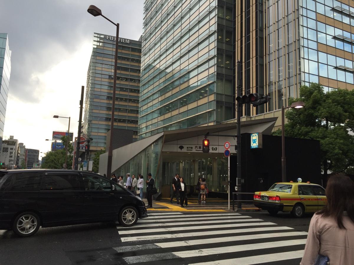 都營大江戶線 六本木駅 7 號出口 / Tokyo Midtown 方面升降機出口