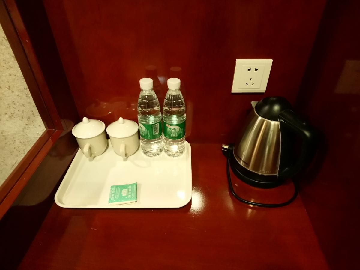 房間有兩支水