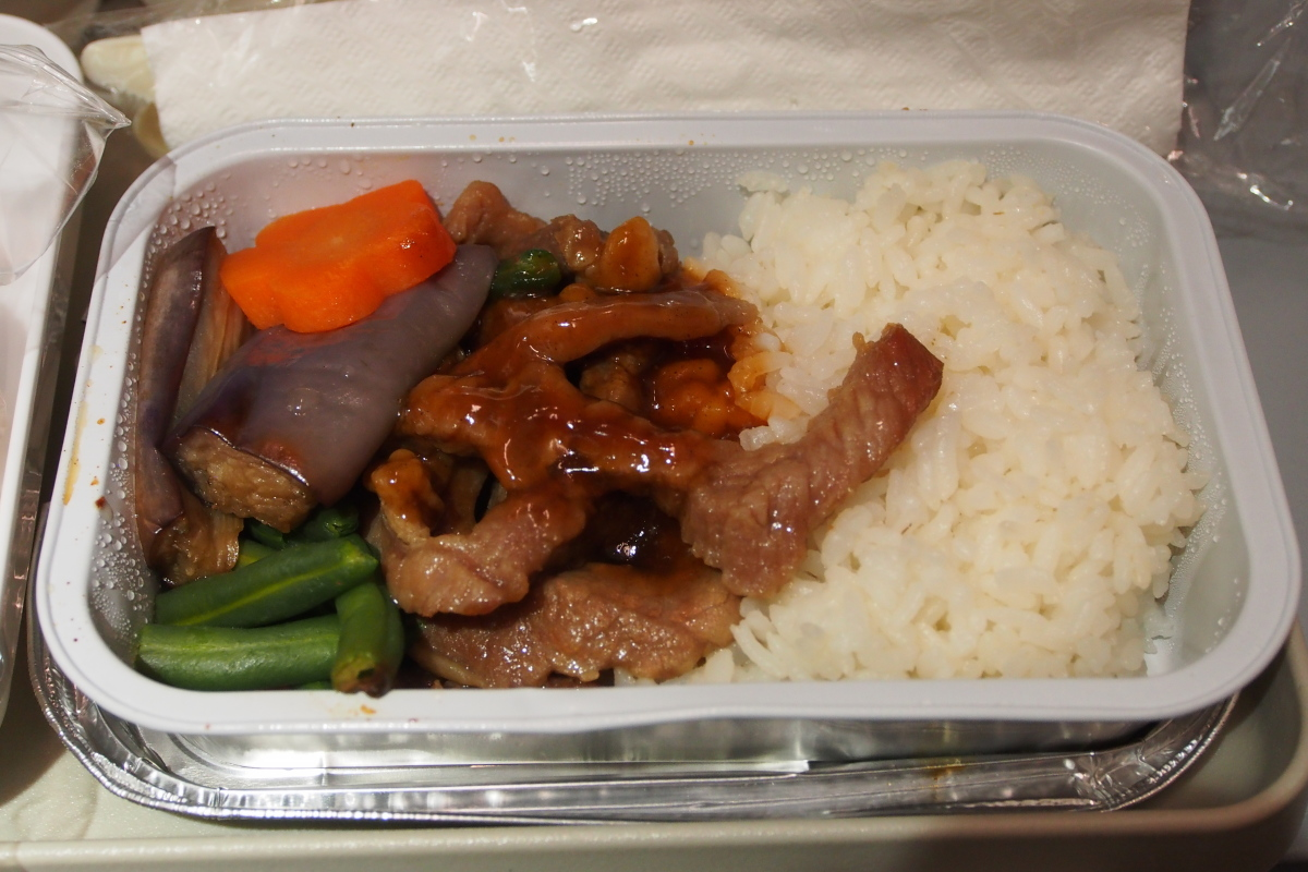 茄子牛肉米飯