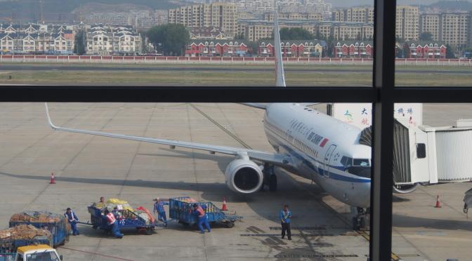 CA153 中國國航 大連→廣島 搭乘記